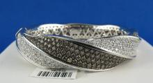 18Kt WG 7.00ct Diamond Bangle