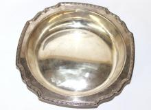 Tiffany & Co. Sterling Floral Trimmed Bowl