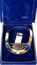 Mary Ann Scherr Sterling & Agate Necklace