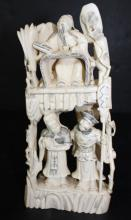 Antique Chinese Ivory Figural Group