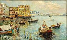 Attilio Pratella, Italian (1856-1949), Oil on Board