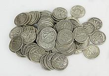 Lot of Eighty (80) Silver Liberty Half Dollars Includes 20-1950, 20-1951, 20-1944, 20-1946. Approx. Weight 31.93 Troy Ounces. These Coins ARE NOT Professionally Graded, We DO NOT Grade Coins, Please View Photos and/or Information to Make your Own