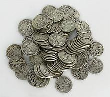 Liberty Half Dollars Includes 40-1945, 20-1941, 20-1943, Approx. Weight 31.71 Troy Ounces. These Coins ARE NOT Professionally Graded, We DO NOT Grade Coins, Please View Photos and/or Information to Make your Own Value Judgment as to the Condition of