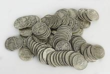 Liberty Half Dollars Includes 40-1942, 20-1944, 20-1951, Approx. Weight 31.83 Troy Ounces. These Coins ARE NOT Professionally Graded, We DO NOT Grade Coins, Please View Photos and/or Information to Make your Own Value Judgment as to the Condition of