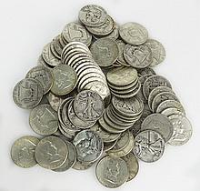 Lot of Eighty (80) Silver Liberty Half Dollars Includes 40-1952 , 20-1954, 20-1942. Approx. Weight 31.97 Troy Ounces. These Coins ARE NOT Professionally Graded, We DO NOT Grade Coins, Please View Photos and/or Information to Make your Own Value