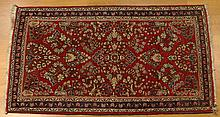 Semi Antique Persian Sarouk Rig. Unsigned. Good Condition. Measures 49 Inches by 27 Inches. Shipping $68.00