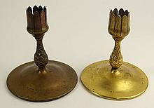 Lot of Two (2) Antique Tiffany Studios Bronze