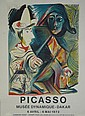 after: Pablo Picasso Spanish (1881-1973) Color Lithograph