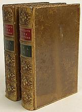 The Life and Letters of Lord Macaulay in Two (2) Volumes, 2nd Edition by his Nephew George Otto Trevelyan M. P. Published London; Longmans, Green and Company, 1877. Fair Condition, Board Detached but Present. Each Measures 8-3/4 Inches by 5-7/8
