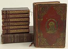 Miscellaneous Collection of Hard Cover Books Including: Washington and the American Republic by Benson John Lossing, The Illustrated Life of Washington J. T. Headley 1860, togther with Six (6) Soft Cover Pocket Books Published by Collins Clear Type