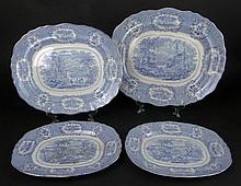 Four (4) Pieces 19th Century English Ridgway Ironstone in the