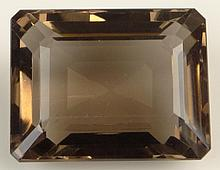 Very Large 127.50 Carat Emerald Cut Topaz. Measures 30mm x 23mm x 15mm. Shipping $26.00