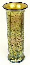 Lundberg Studio Iridescent Art Glass Vase