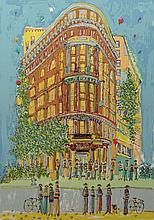Susan Pear Meisel, American (born 1947) Color Lithograph