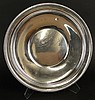 Vintage Sterling Silver Round Serving Tray. Features Gadroon Rim. Signed Fisher, STERLING, 2165. Minor dings and typical surface scratches or in otherwise Good condition. Measures 14 Inches and Weighs 26.72 Troy Ounces. Shipping $87.00