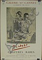Pablo Picasso Spanish (1881-1973) Lithograph Poster