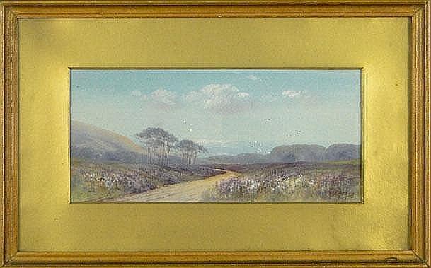 Herbert W Hicks British (1880-1944) Watercolor
