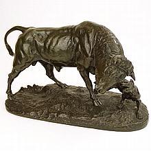 Charles Valton, French (1851-1918) Bronze Sculpture
