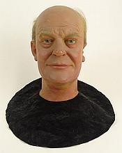 20th Century Life-sized Wax Head,