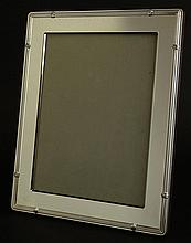 Christofle Silver Plate Picture Frame. Signed Christofle France. Original Box. Very Good Condition. Measures 12 inches by 9-3/4 Inches. Holds a 9-1/4 Inches by 7 Inches Photo. Shipping $45.00