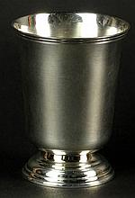 Christofle Silver Plate Footed Cup. Signed Christofle. Good Condition. Measures 3-1/2 Inches Tall. Shipping $35.00