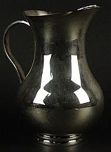 Christofle Silver Plate Water Pitcher. Signed Christofle. Good Condition. Original Anti-Tarnish Bag Included. Measures 8 Inches Tall. Shipping $65.00