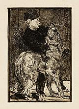 *EDOUARD MANET 1832 Paris 1883 L'Enfant et le chien