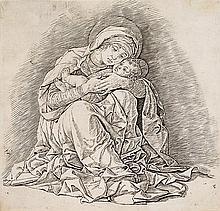 *Andrea Mantegna Isola di Carturo 1431 - 1506 Longinus Jungfrau mit dem Kind