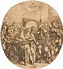 *Domenico Campagnola 1500 Padua 1552 Die Erscheinung des Heiligen Geistes – Pfingsten, Domenico Campagnola, CHF0