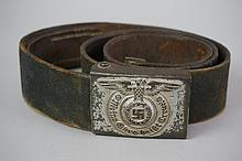 WWII Nazi Germany Belt & Buckle 38