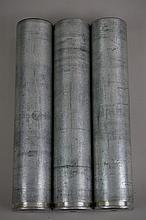 Lot of Three Late 30's Early 40's Signal Gun Shells M11