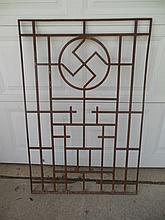 Very Rare and Unique WWII German Nazi Window Grill