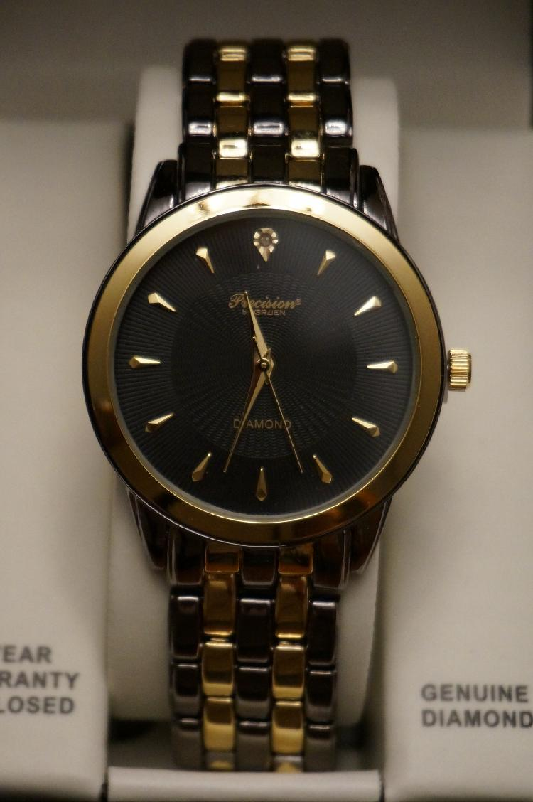 Men's Diamond Gruen Watch