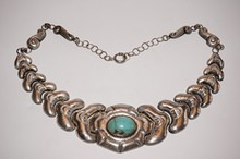 Vintage Sterling Silver & Turquoise 20