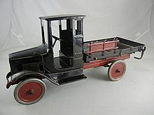 Antique Buddy L Steel Stake Truck 25