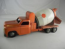 Vintage Structo Ready Mix Concrete Truck 21-1/2