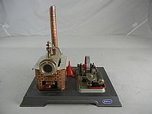 Vintage Wilesco West Germany Steam Engine