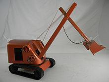 Vintage Structo Construction Bulldozer 8