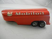Vintage Smith Miller Mobil Tanker 16-1/2