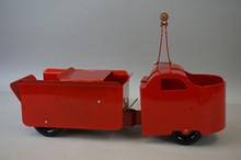 Restored Garland Ride-On Dump Truck Toy, 24
