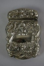 Antique Sterling Silver Match Safe 2-1/2