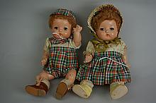 Vintage Pair Of Effanbee 9