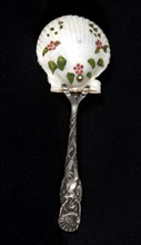 Victorian Sterling Spoon Seashell