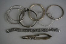 Lot of Sterling Silver Bracelets 4.42 Troy Ounces