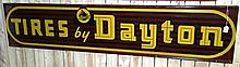 Horizontal Tires by Dayton Thoroughbred Sign