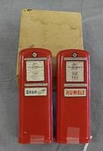 NOS Esso Humble Gas Salt and Pepper Shakers in original box