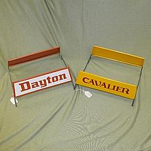 Dayton and Cavalier Tire Display Racks