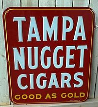 Tampa Nuggets Cigars Good as Gold Embossed
