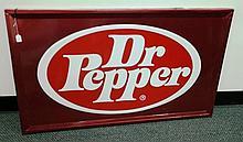 Large Dr Pepper Sign