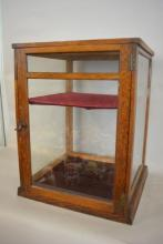 Antique Counter Top Glass  Sides Showcase